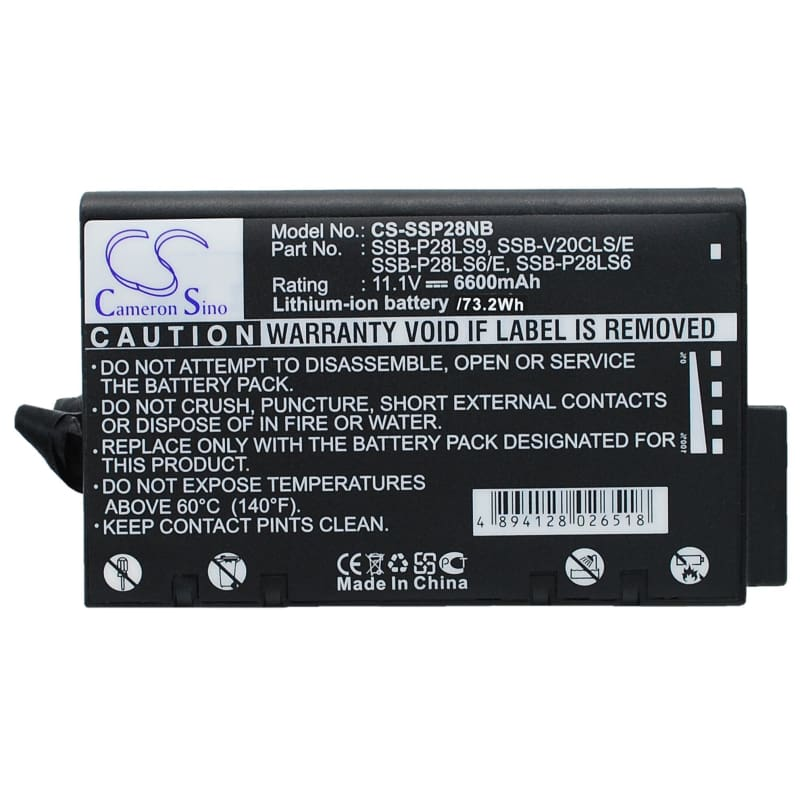 New Premium Notebook/Laptop Battery Replacements CS-SSP28NB