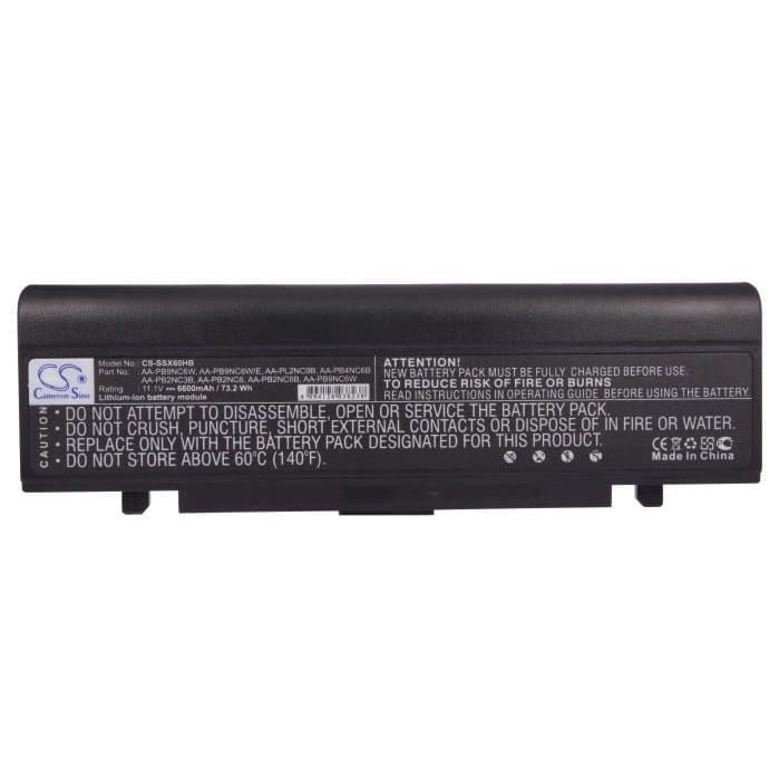 New Premium Notebook/Laptop Battery Replacements CS-SSX60HB