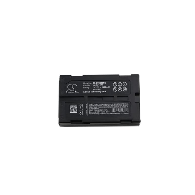 Premium Battery for Hitachi, Vm-645la, Vm-945la 7.4V, 2900mAh - 21.46Wh