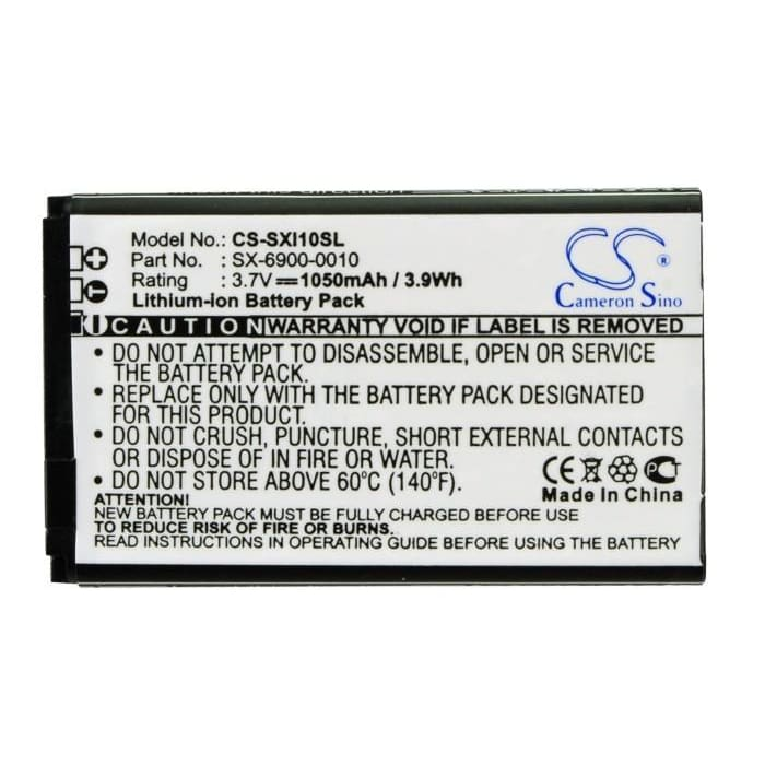 Premium Battery for Sirius Xm Lynx, Sxi1 3.7V, 1050mAh - 3.89Wh
