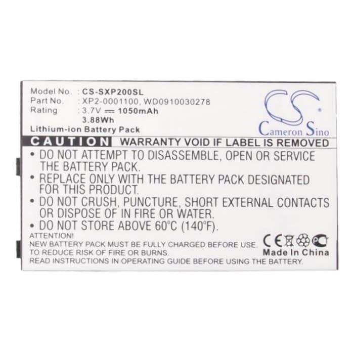 New Premium Mobile/SmartPhone Battery Replacements CS-SXP200SL