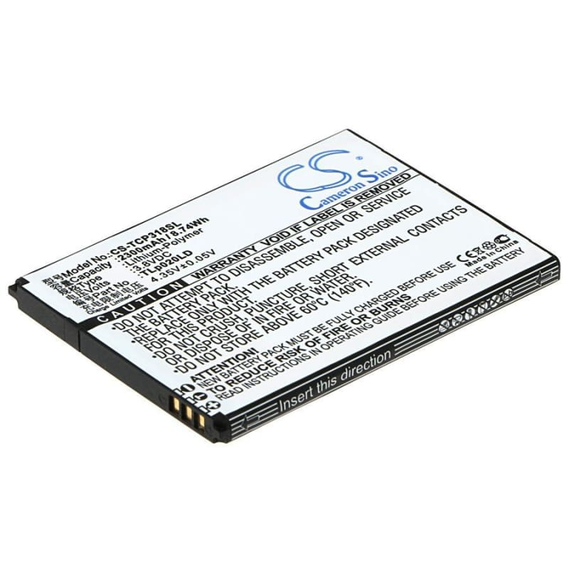 New Premium Mobile/SmartPhone Battery Replacements CS-TCP318SL