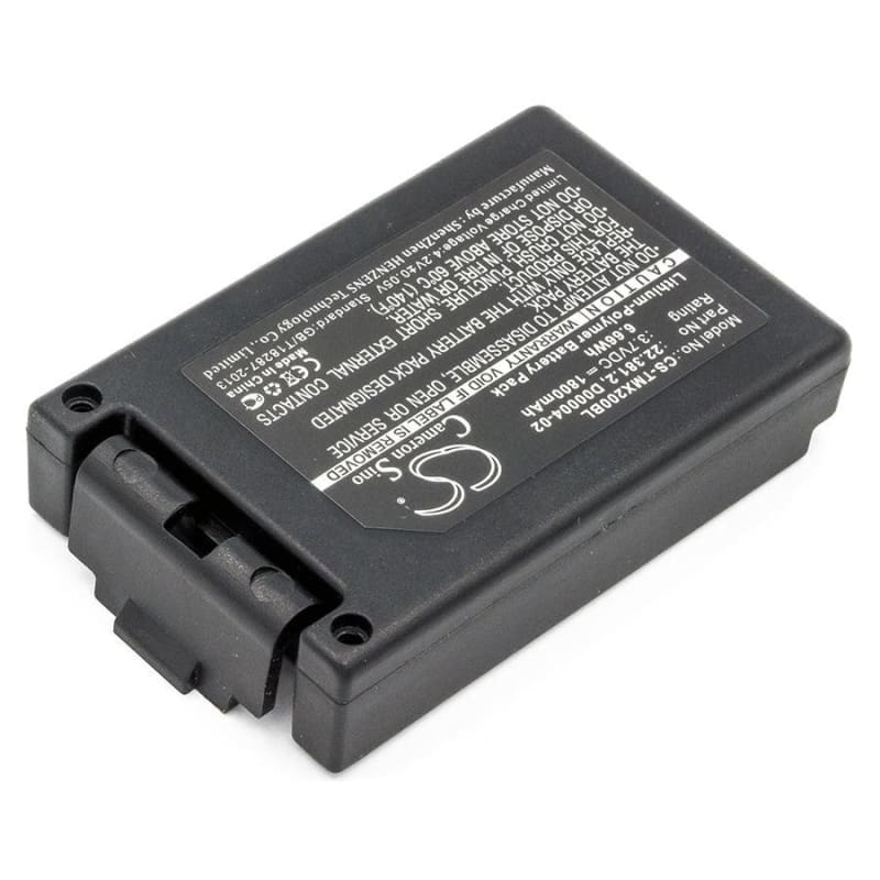 Premium Battery for Teleradio, Tg-txmnl, Transmitter Tele Radio Tg-txmnl 3.7V, 1800mAh - 6.66Wh