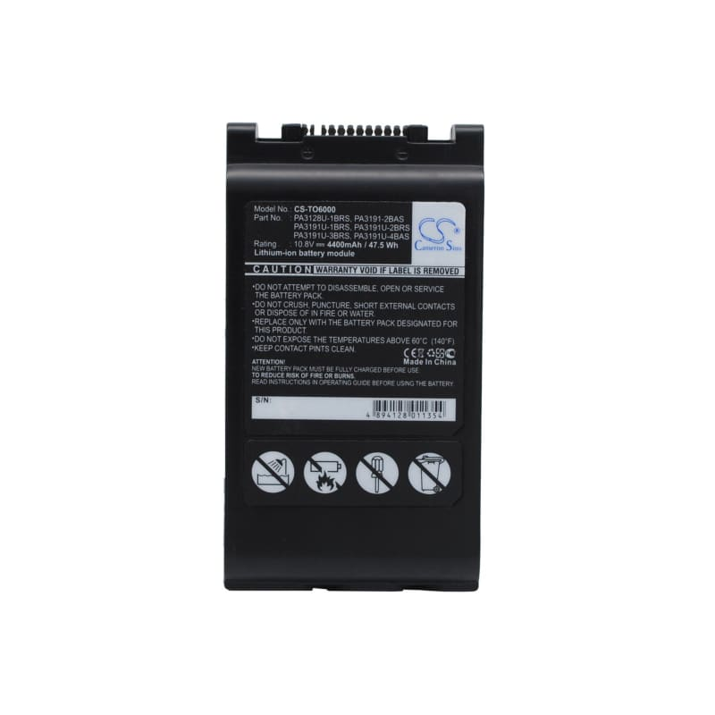 New Premium Notebook/Laptop Battery Replacements CS-TO6000