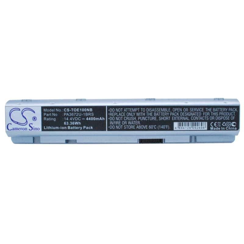 New Premium Notebook/Laptop Battery Replacements CS-TOE100NB