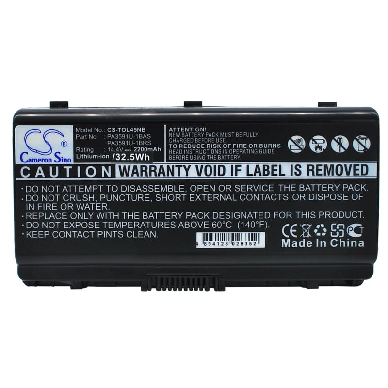 New Premium Notebook/Laptop Battery Replacements CS-TOL45NB