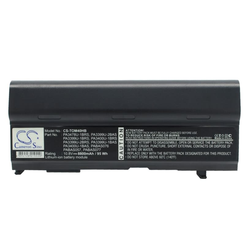 New Premium Notebook/Laptop Battery Replacements CS-TOM40HB