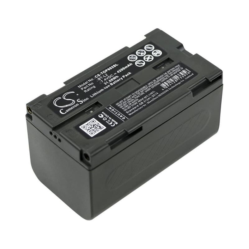 Premium Battery for Topcon, Es Total Station, Es-600g, Es-602, Es-602g 7.4V, 4200mAh - 31.08Wh