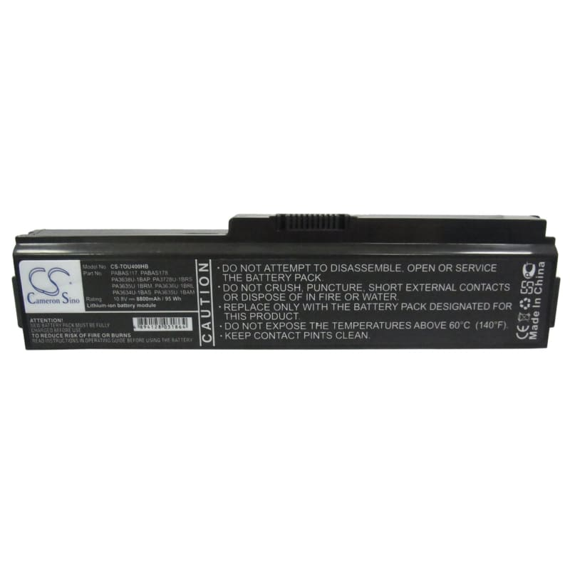 New Premium Notebook/Laptop Battery Replacements CS-TOU400HB