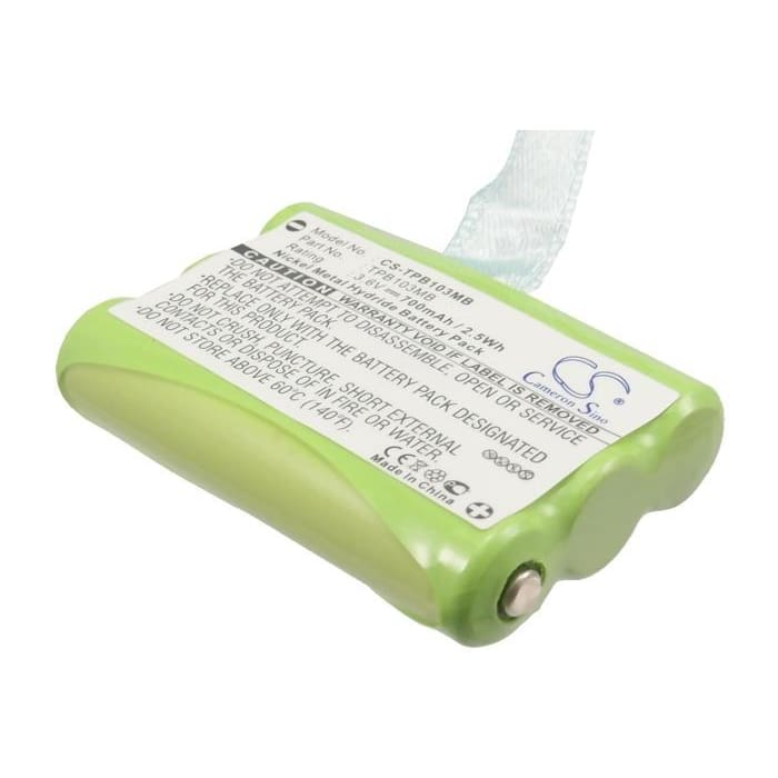 Premium Battery for Topcom, Babytalker 1010, Babytalker 1020 3.6V, 700mAh - 2.52Wh