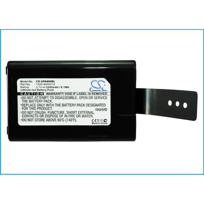 Premium Battery for Unitech Ht680, Pa690 3.7V, 2200mAh - 8.14Wh