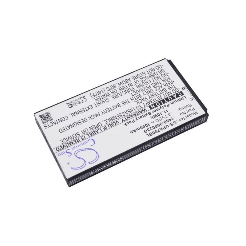 Premium Battery for Unitech Pa700 3.7V, 3000mAh - 11.10Wh