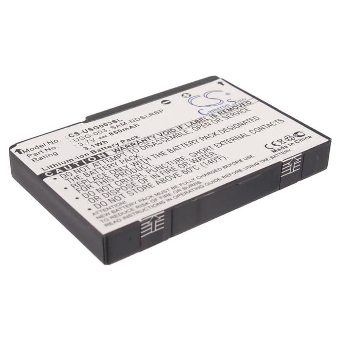 Premium Battery for Nintendo Ds, Ds Lite 3.7V, 850mAh - 3.15Wh