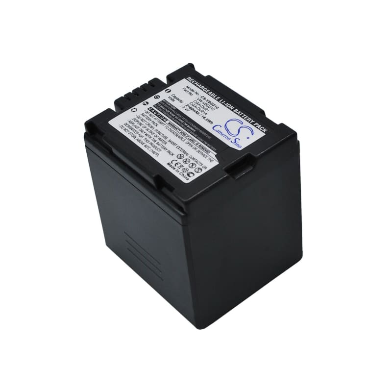 Premium Battery for Hitachi Dz-bd70, Dz-bd7h, Dz-bx37e, Dz-gx20, 7.4V, 2160mAh - 15.98Wh