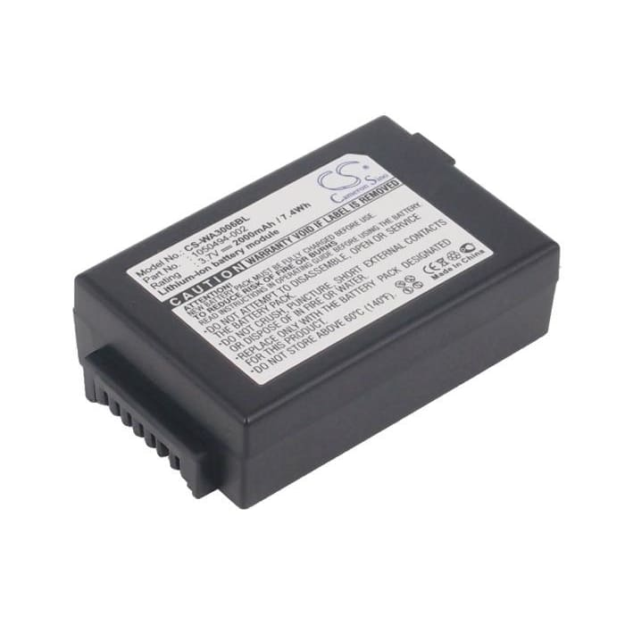 New Premium BarCode/Scanner Battery Replacements CS-WA3006BL