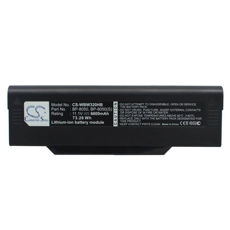 New Premium Notebook/Laptop Battery Replacements CS-WBW320HB