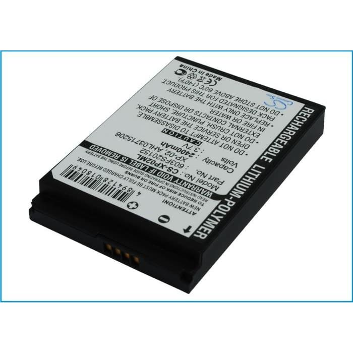 New Premium PDA/Pocket PC Battery Replacements CS-XP02ML