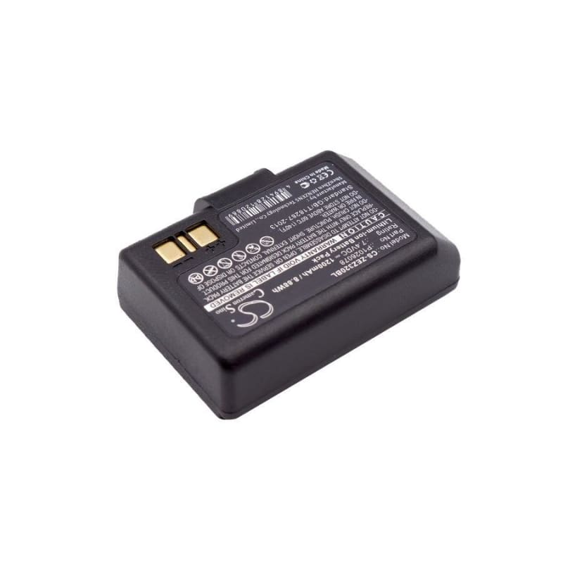 Premium Battery for Zebra, Ez320 7.4V, 1200mAh - 8.88Wh