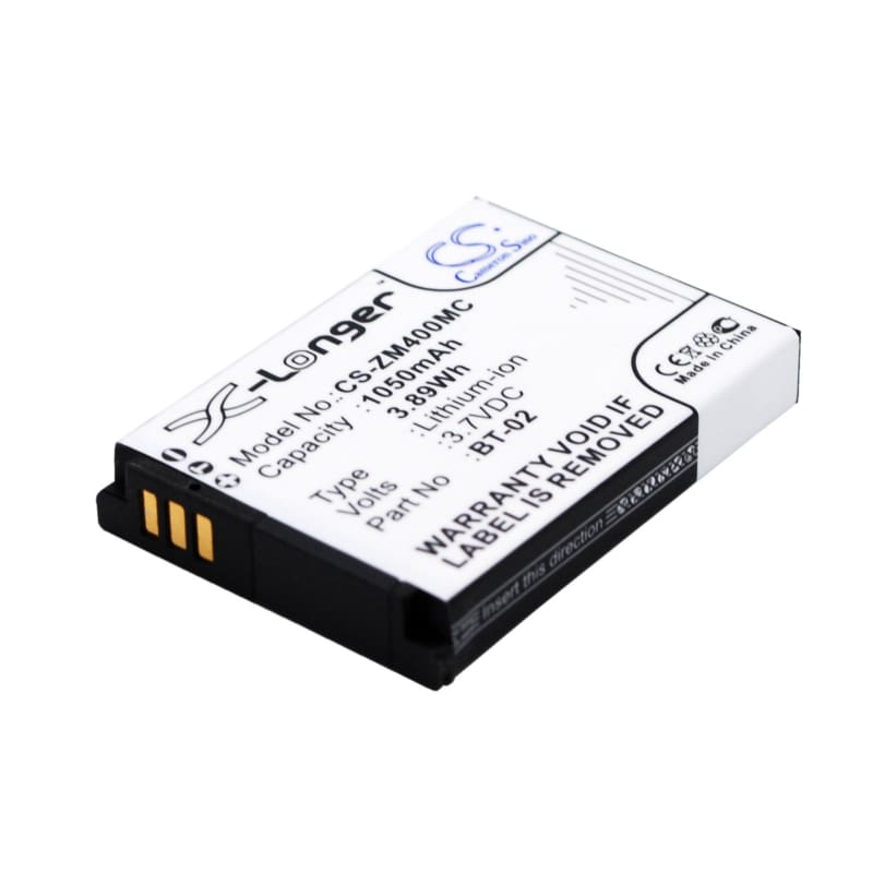 Premium Battery for Zoom 247-9036, Q4, Q4 Handy 3.7V, 1050mAh - 3.89Wh