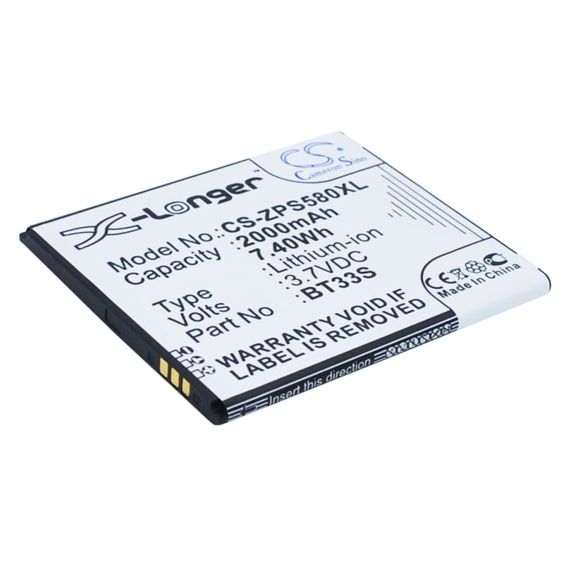 New Premium Mobile/SmartPhone Battery Replacements CS-ZPS580XL