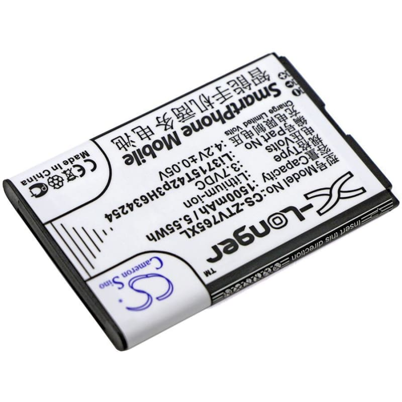 New Premium Mobile/SmartPhone Battery Replacements CS-ZTV765XL