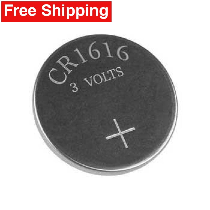 3x CR1616 | DL1616 | BR1616 3 Volt Lithium Battery Replacement - Free Shipping