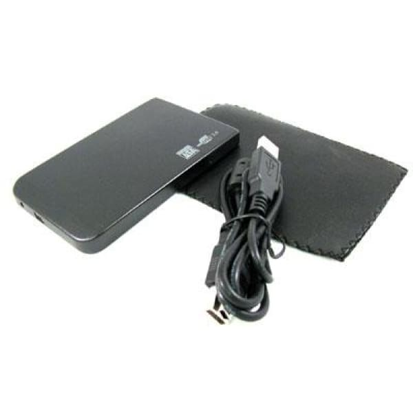 USB 2.0 2.5 HD SATA Ext. Enclosure Case Black