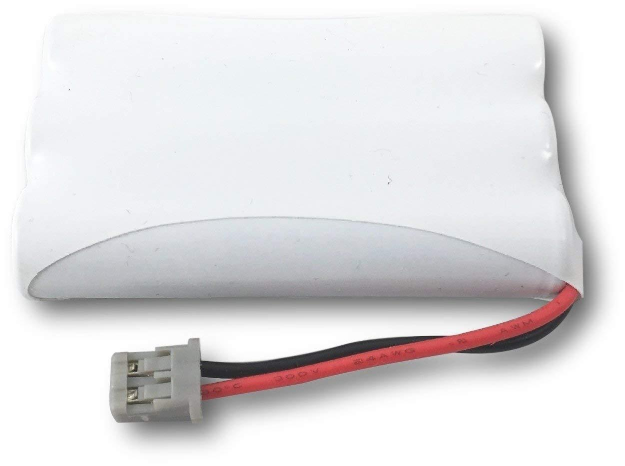 800mAh 3.6V NI-MH 3 Pack Replacement for Sanyo CLT-E22 Battery Compatible with Sanyo Cordless Phone Battery