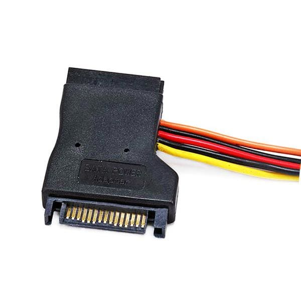 0.2meter 15pin SATA Power Y Cable - Monoprice