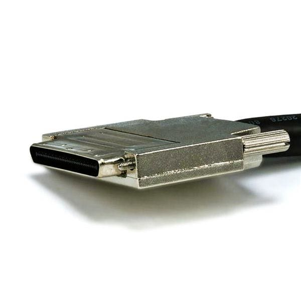 0.8 mm/HPDB68M VHDCI 0.8mm SCSI Cable - 3ft , Offset Assy Type  - Monoprice