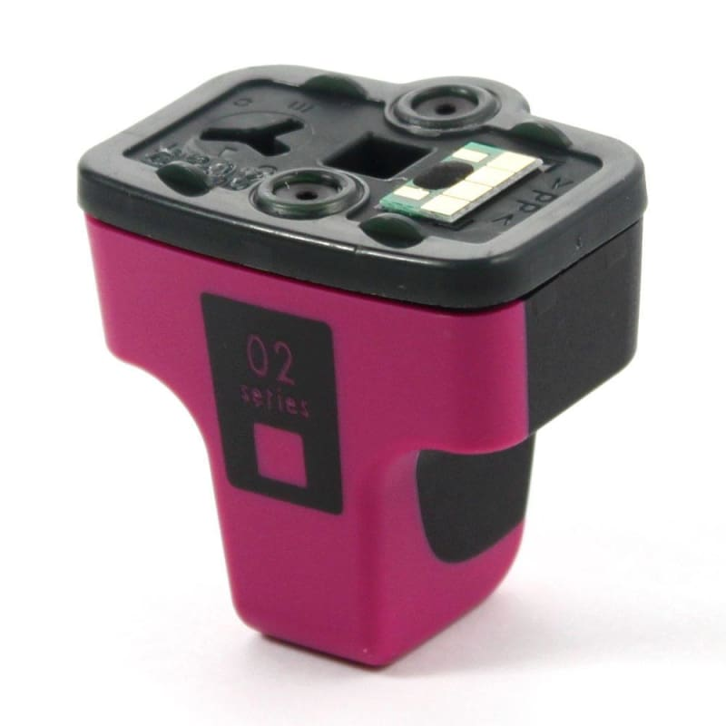Remanufactured HP 02 C8772WN Magenta Ink Cartridge