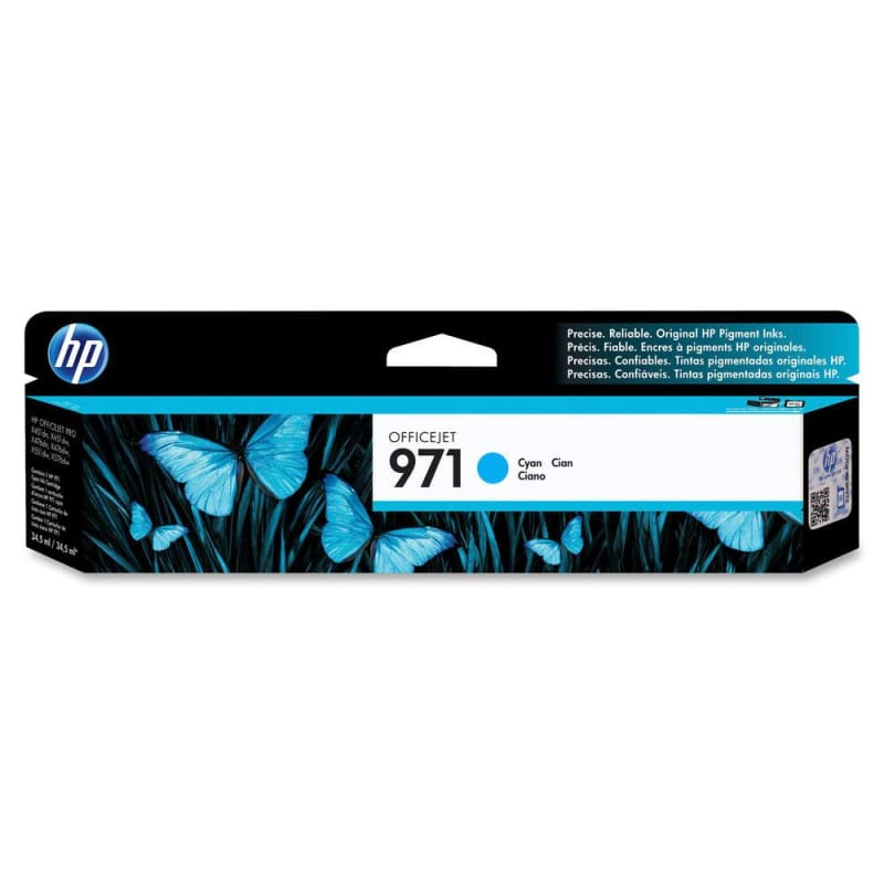 HP 971 CN622AM Original Cyan Ink Cartridge