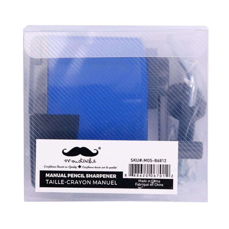 Manual Pencil Sharpener with Desk Clamp - Moustache®