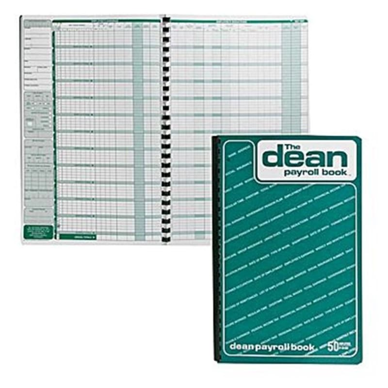 Dean & Fils Dean and Lefebvre Payroll Book Designed