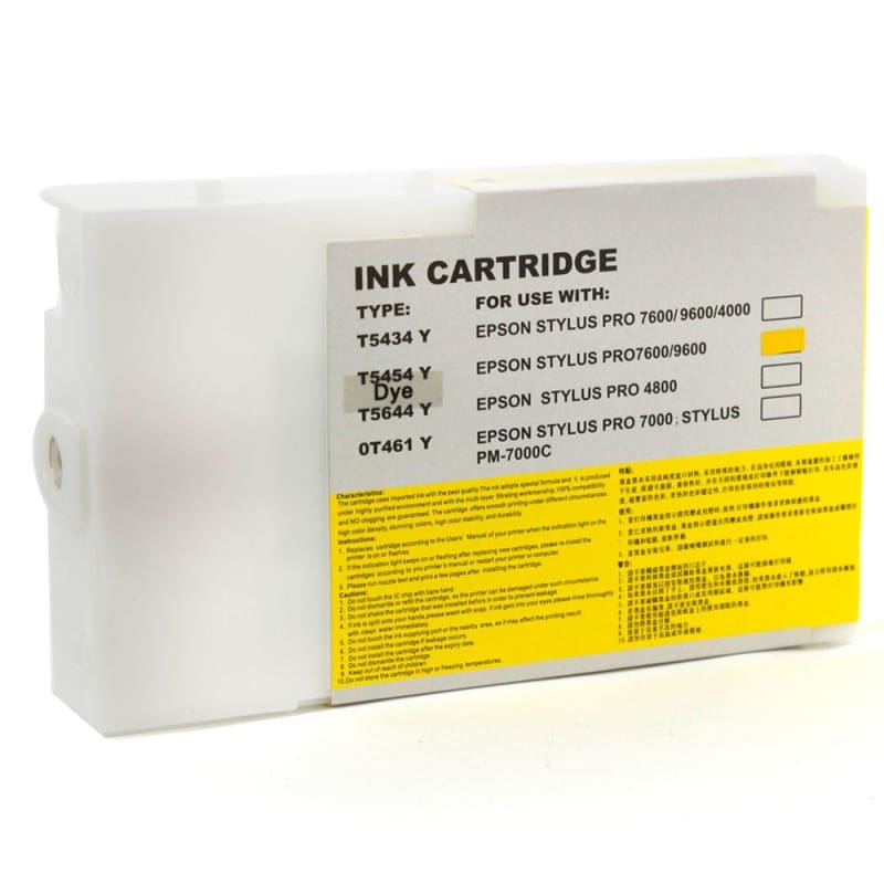 Compatible Epson T545400 Yellow Ink Cartridge