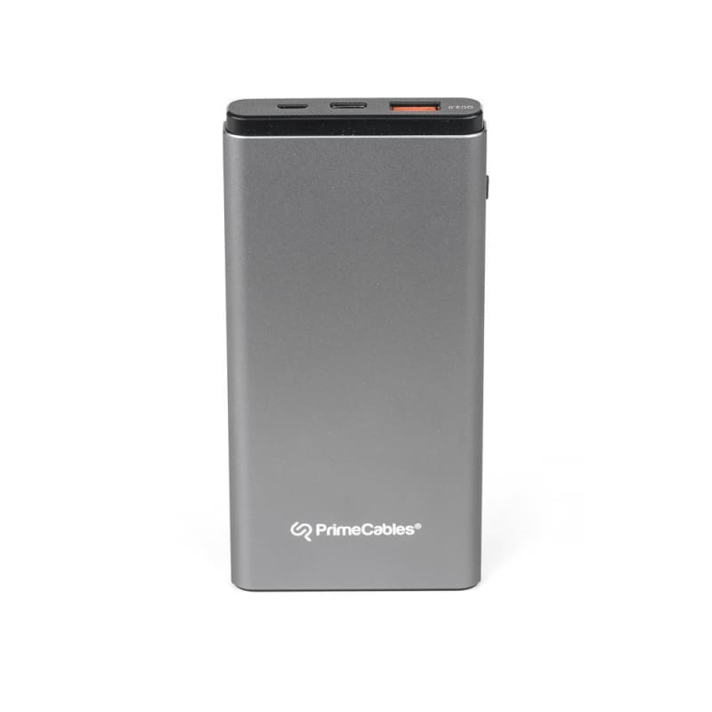 10000mAh Portable External Battery Charger Power Bank USB Type-C USB A Dual Output - PrimeCables®