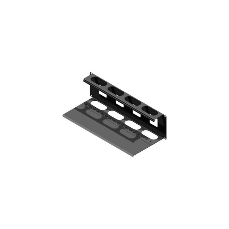 Hammond 3U 19 Inch Rackmount Cable Management Panel, Hinged Type