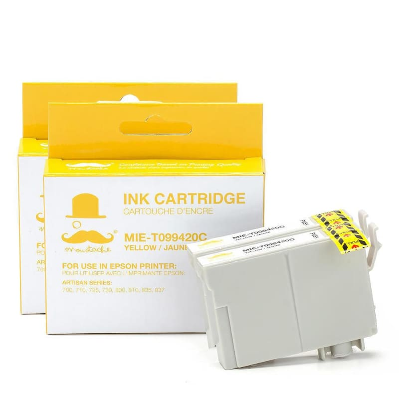 Compatible Epson T099420 Yellow Ink Cartridge - Moustache®