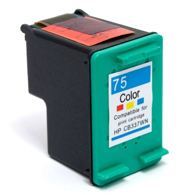 Remanufactured HP 75 CB337WN Color Ink Cartridge - G&G™