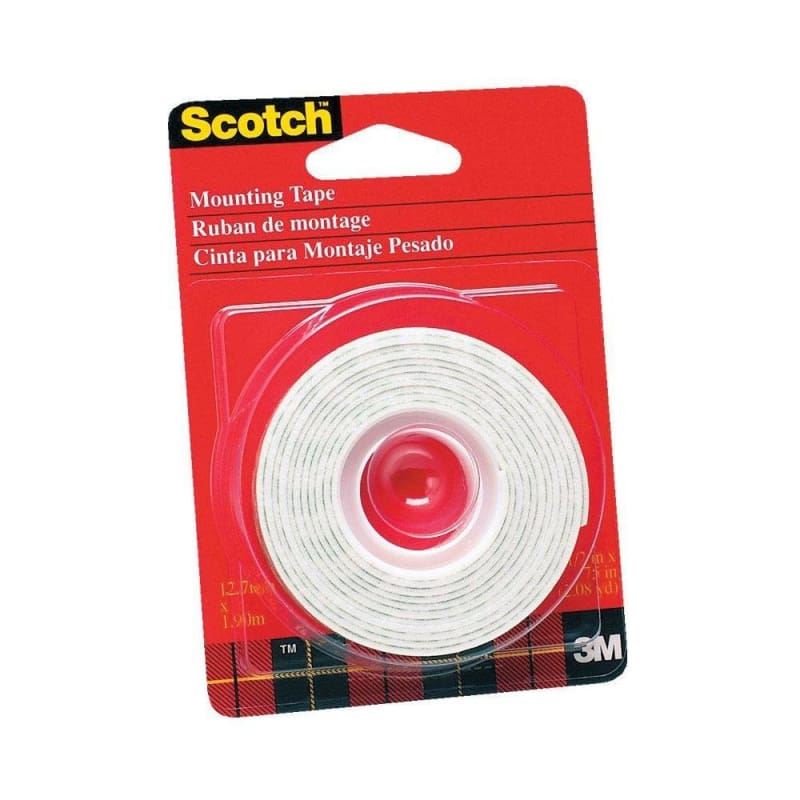 3M Scotch™ White Mounting Tape - Double-sided 392431
