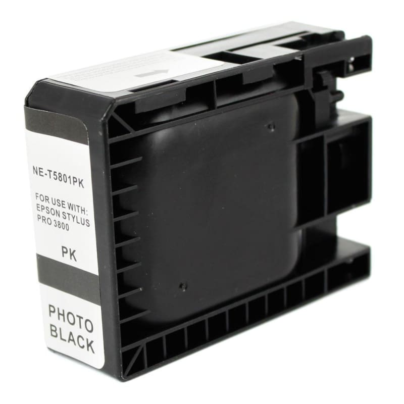 Compatible Epson T580100 Photo Black Ink Cartridge Pigment