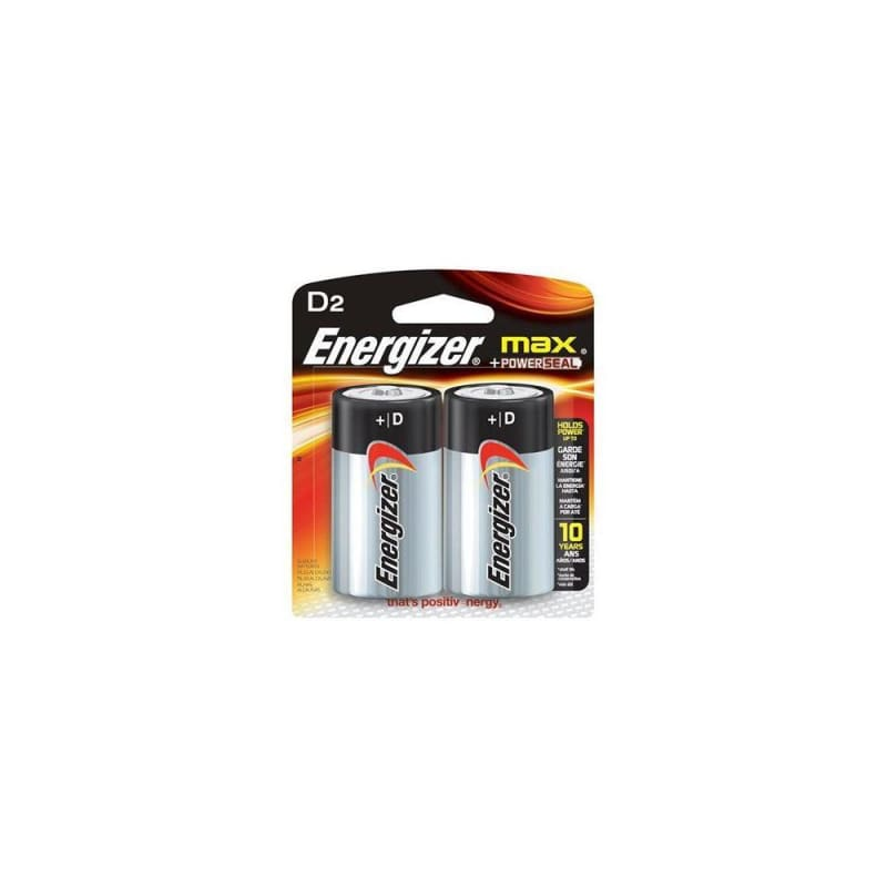 ENERGIZER MAX D2 2/PACK