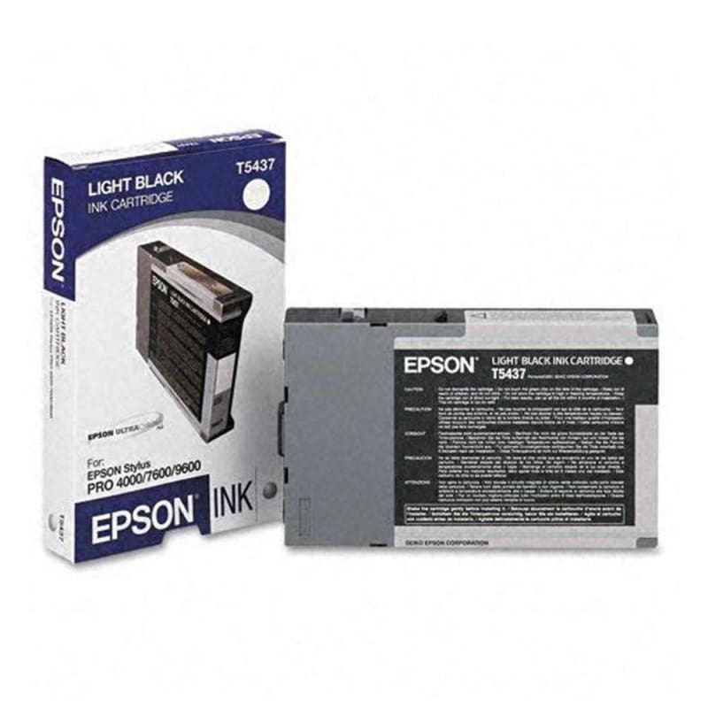Epson T543700 Original Light Black UltraChrome Ink Cartridge