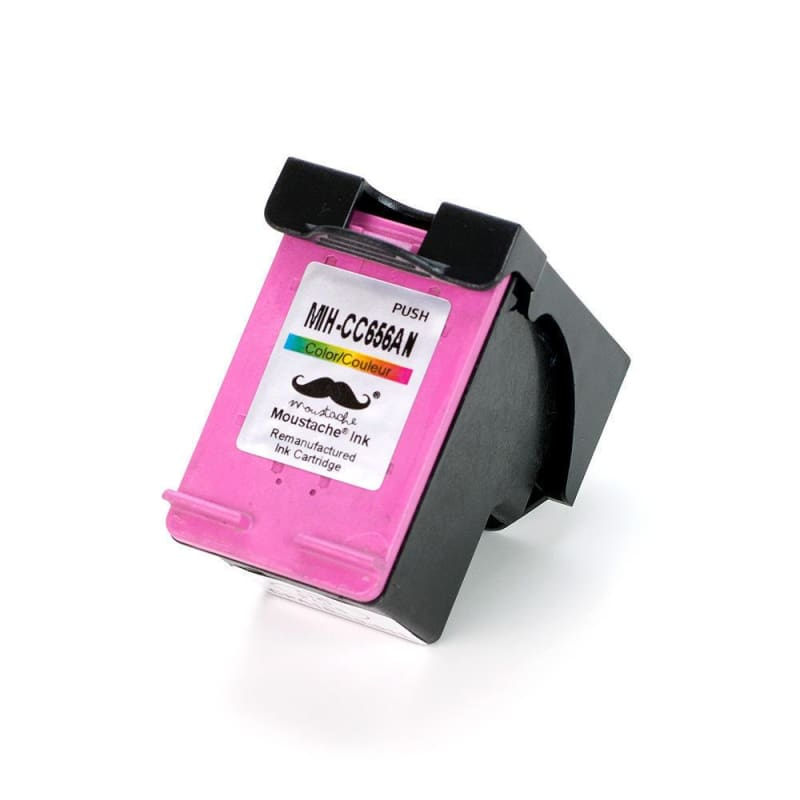 Remanufactured HP 901 CC656AN Color Ink Cartridge - Moustache®