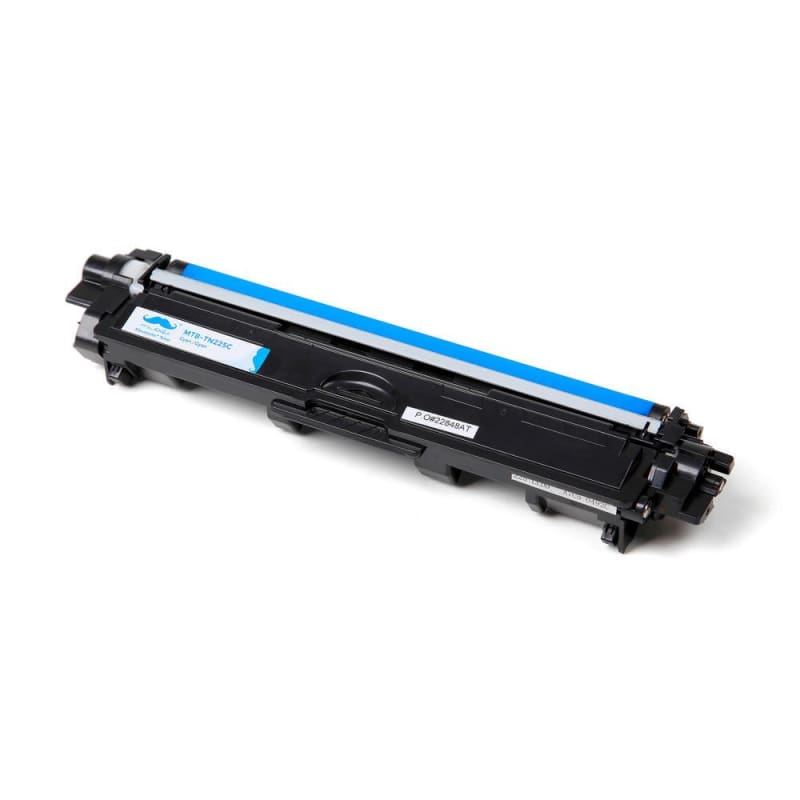 Compatible Brother TN-225 Cyan Toner Cartridge High Yield - Moustache®