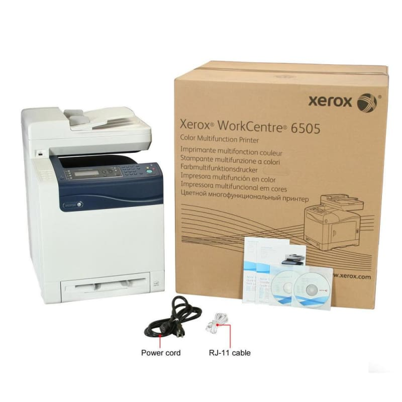 Xerox WorkCentre 6505/N All-In-One Color LED Laser Printer (WorkCentre 6505)