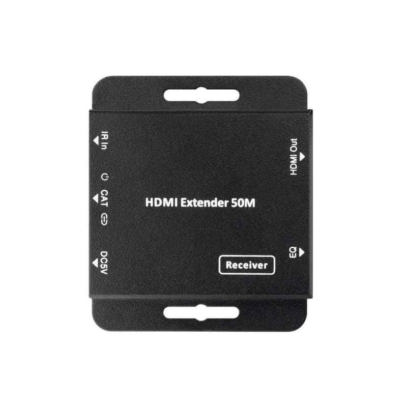 Blackbird AV™ Ultra Slim HDMI® Extender with HDMI Loop Out, EDID, PoC, and IR Control, 50 meters