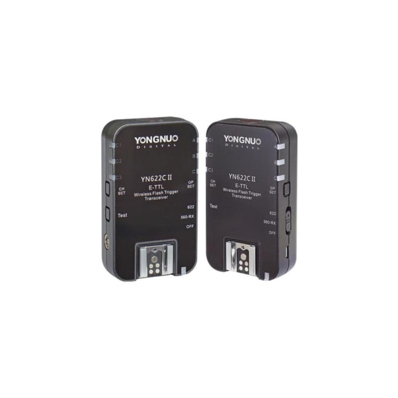 Yongnuo YN-622CII Wireless TTL Transceiver for Canon (twin-pack)