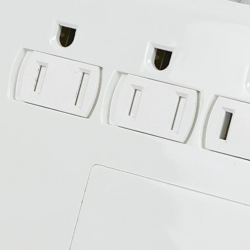 12 Outlet Power Surge Protector w/ 2 Built-In USB Charger Ports - 3420 Joules - Monoprice®