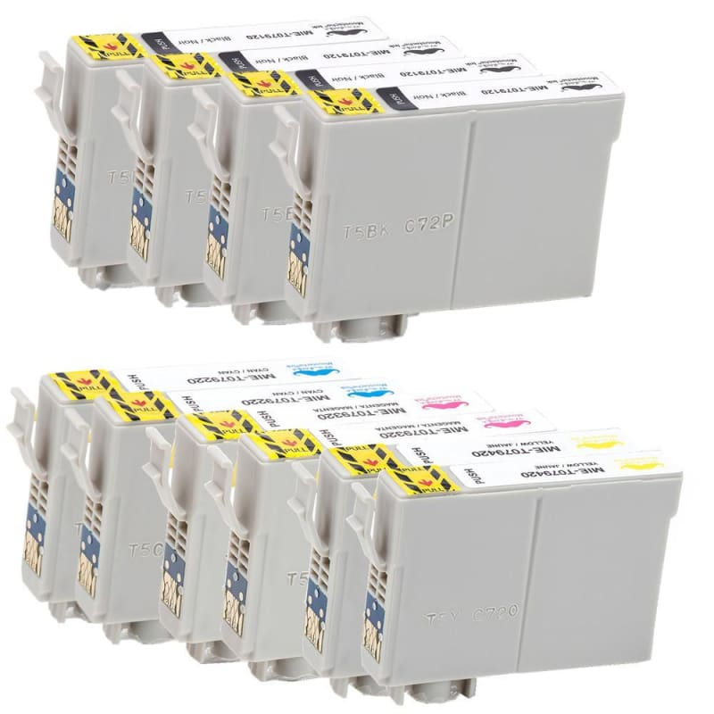 Compatible Epson T079 Ink Cartridges Combo High Yield - Moustache®